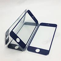 Стекло iPhone 5G, 5S, 5C, цвет черный