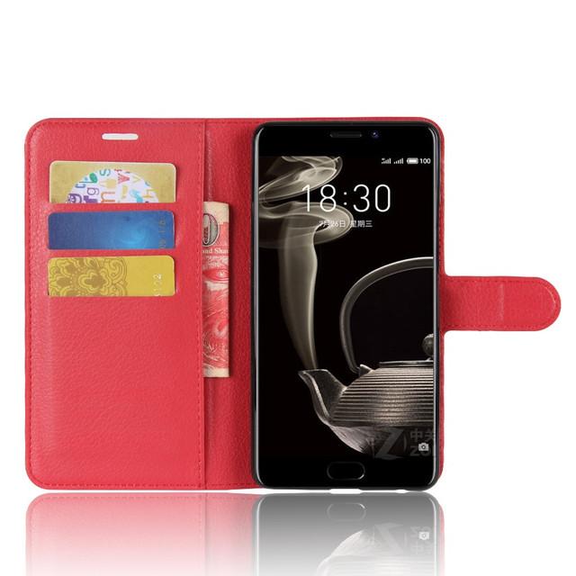 чехол книжка Meizu PRO 7 plus красный