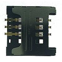 Сим коннектор для Samsung E1080/C3322/E1182/C3782/C3750/i9000