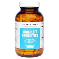 Dr. Mercola, Комплекс пробиотиков, 180 капсул, MCL-01317