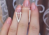Серебряные серьги ПР-2068