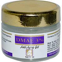 Intensive Nutrition, Диметиламиноэтанол 3%, омолаживающий гель, 30 мл (1 унция), INU-00022