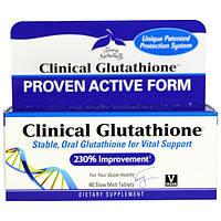 EuroPharma, Terry Naturally, Клинический глутатион, 60 медленно растворяемых таблеток, EUR-23706