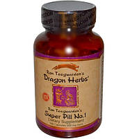 Dragon Herbs, Суперлекарство №1 от Рона Тигардена, 100 капсул по 500 мг (Discontinued Item), DRA-00104