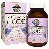 Garden of Life, Витаминный код, сырые витамины для беременных, 180 вегетарианских капсул, GOL-11590
