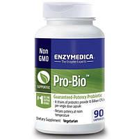 Enzymedica, Pro-Bio, пробиотик гарантированного действия, 90 капсул, ENZ-25112