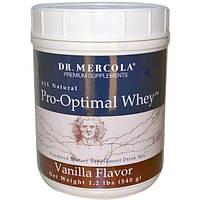 Dr. Mercola, Про-Оптимальный сывороточный протеин со вкусом ванили, 1,2 фунта (540 г), MCL-01177