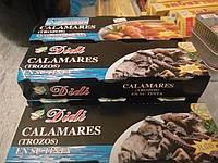 Кальмар в чернилах каракатицы Didi 3*80г (Испания)