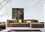 Модульный диван с контрастной строчкой XSMALL фабрика Vibieffe (Италия), фото 3