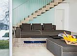 Модульный диван с контрастной строчкой XSMALL фабрика Vibieffe (Италия), фото 7