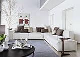 Модульный диван с контрастной строчкой XSMALL фабрика Vibieffe (Италия), фото 8