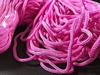 Шнур для одежды  полипропиленовый цвет розовый 100 метров