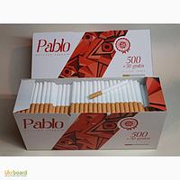 Сигаретные гильзы 550 шт / уп. PABLO гильзы для набивки табаком