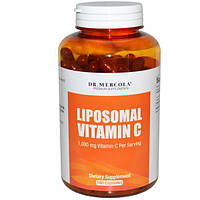 Dr. Mercola, Липосомальный витамин C, 180 капсул, MCL-01559