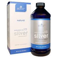 Activz, Формула поддержки иммунитета с серебром, 12 PPM, 16 жидких унций (473 мл), ATZ-00060
