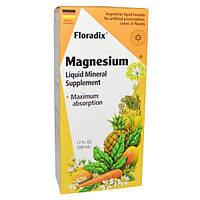 Flora, Магний Floradix, жидкая минеральная добавка, 500 мл, FLO-64729