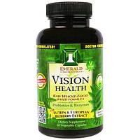 Emerald Laboratories, Поддержка зрения, 60 вегетарианских капсул, EMR-00348