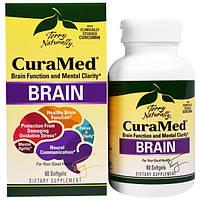 EuroPharma, Terry Naturally, CuraMed для мозга, 60 мягких желатиновых капсул, EUR-30206
