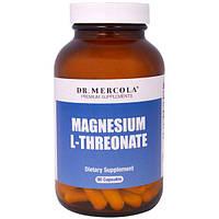 Dr. Mercola, L-Треонат магния, 90 капсул, MCL-01778