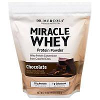 Dr. Mercola, чудесный сывороточный протеин в порошке со вкусом шоколада, 454 г, MCL-01138