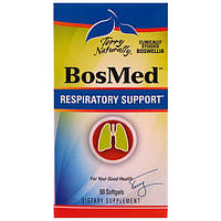 EuroPharma, Terry Naturally, Bosmed, Respiratory Support, 60 Softgels, EUR-16236