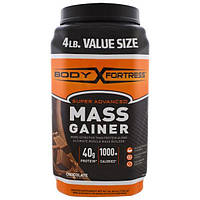 Body Fortress, Super Advanced Mass Gainer, Chocolate, 4 lbs (1,814 g), BFT-54921