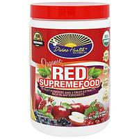 """Divine Health, """"Красный сверхпродукт"""", органическая смесь из фруктовых порошков и экстрактов, 6,30 унции (180 г), DVH-00326"""