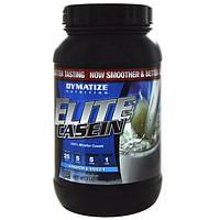 Dymatize Nutrition, Элитный казеин со вкусом ванили, 918 г, DYZ-22608