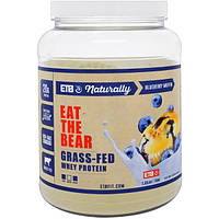 Eat the Bear, Протеин животного на травяном откорме, черничный маффин, 1.55 фунта (704 г), GRZ-00706