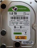 Жесткий диск HDD 1Tb Mediamax (WL1000GSA6454G).