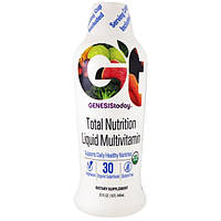 Genesis Today, Total Nutrition Daily Multivitamin, 32 fl oz (946 ml), GTI-00001