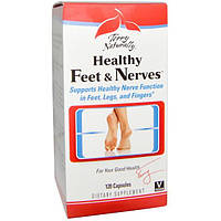 EuroPharma, Terry Naturally, Terry Naturally, Healthy Feet & Nerves, здоровые ноги и нервы, 120 капсул, EUR-34202