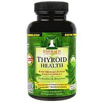 Emerald Laboratories, Здоровье щитовидной железы, 60 вегетарианских капсул, EMR-00224
