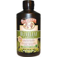 Barlean's, Комплекс листьев оливы, со вкусом перечной мяты, 16 унции (454 г), BAR-70001