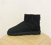Угги мужские мини классические MEN'S CLASSIC MINI UGG® Australia черные замшевые