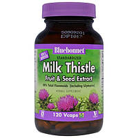 Bluebonnet Nutrition, Herbals, Milk Thistle Extract, 120 Vcaps, BLB-01381