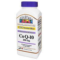 21st Century, Коэнзим Q-10, 200 мг, 120 гелевых капсул, CEN-27435