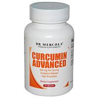 Dr. Mercola, улучшенный куркумин, 500 мг, 30 капсул, MCL-01539