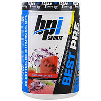 BPI Sports, Best Pre Workout, Beta-Hydroxybutyrate Ketone & Energy Formula, Watermelon Ice, 11.11 oz (315 g), BPI-02473