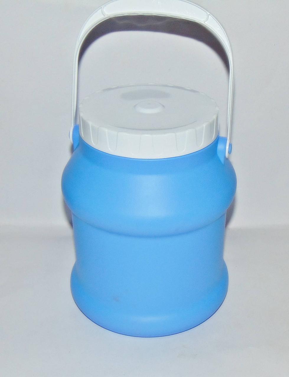 Бидон пластмассовый пищевой 3л