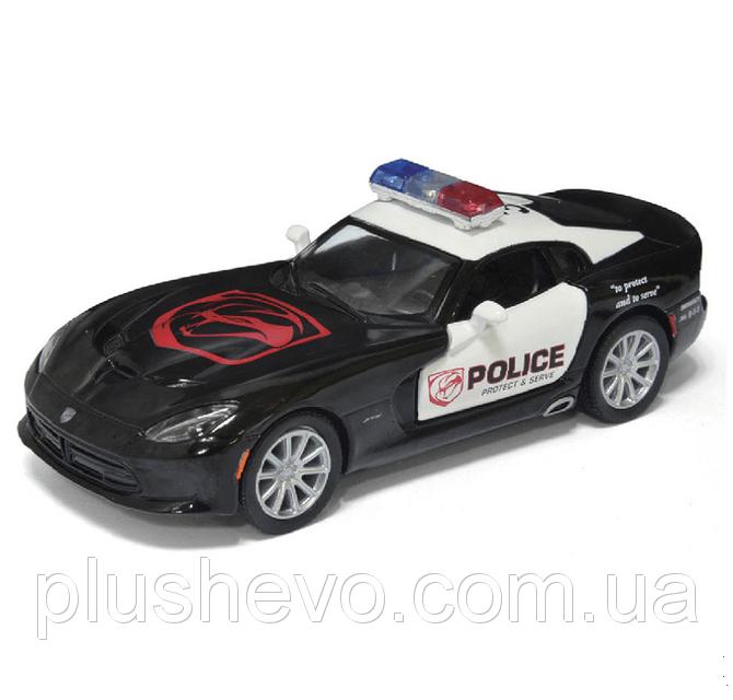 Металлическая модель kinsmart SRT Viper GTS (Police)