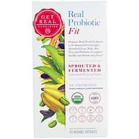 Get Real Nutrition, Настоящий пробиотик - физическая форма, 90 органических капсул, GTR-00004