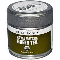 Dr. Mercola, Качественный зеленый чай маття, 1.06 унций (30 г), MCL-01022