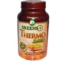 Greens Plus, Диетическая добавка Thermo Lean, 120 вегетарианских капсул, GRP-50000