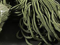 Шнур для одежды  полипропиленовый цвет хаки 100 метров
