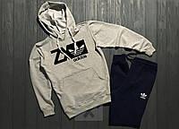 Теплый спортивный мужской костюм Adidas ZX