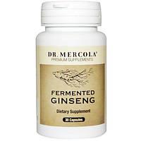 Dr. Mercola, женьшень, 30 капсул, MCL-01610