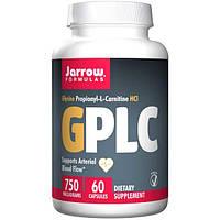 Jarrow Formulas, GPLC, GlycoCarn, 60 вегетарианских капсул (Discontinued Item), JRW-02012