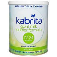 Kabrita, Смесь для малышей из козьего молока с железом, 14 унций (400 г) порошка, KAB-00005