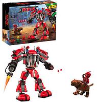 Конструктор LeroNinja12001 Огненный робот Кая, 519 дет.